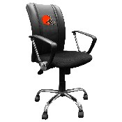 Curve Task Chair with Cleveland Browns