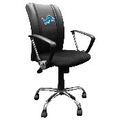 Curve Task Chair with Detroit Lions