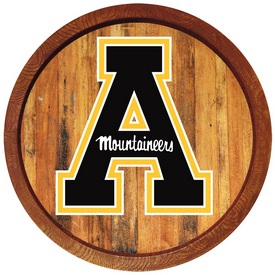 "Applachian State Mountaineers 20"" Barrel Team Logo Wall Sign"