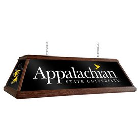 """Applachian State Mountaineers 49"""" Premium Wood Pool Table Light-Institution Logos"""