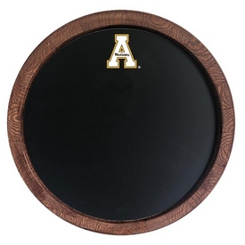 "Applachian State Mountaineers 20"" Barrel Team Logo Chalkboard-Primary Logo"