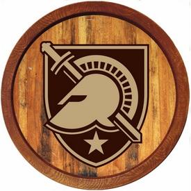 """Army USMA Black Knights 20"""" Barrel Team Logo Wall Sign"""