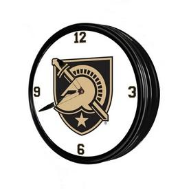 "Army USMA Black Knights 19"" LED Team Spirit Clock"