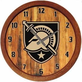 """Army USMA Black Knights 20"""" Barrel Team Logo Wall Clock"""
