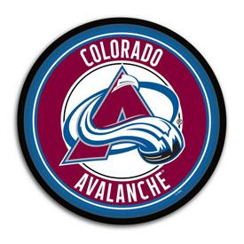 Colorado Avalanche: Modern Disc Wall Sign