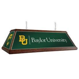 "Baylor University Bears 49"" Premium Wood Pool Table Light-Institution Logos"