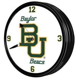 "Baylor University Bears 19"" LED Team Spirit Clock"