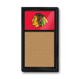 Chicago Blackhawks: Cork Noteboard