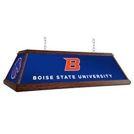 "BSU - Boise State Broncos 49"" Premium Wood Pool Table Light-Institution Logos"