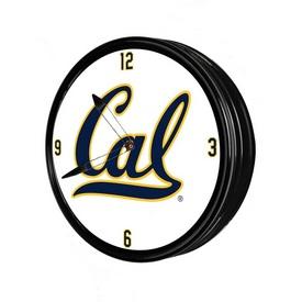 "Cal Berkeley Golden Bears 19"" LED Team Spirit Clock"
