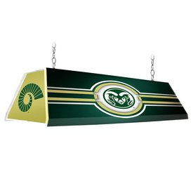 "CSU - Colorado State Rams 46"" Edge Glow Pool Table Light-Green"