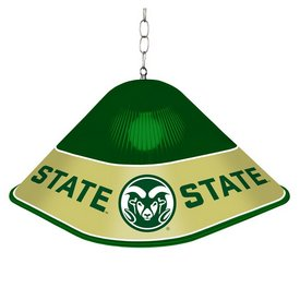 CSU - Colorado State Rams Game Table Light-Square-Green