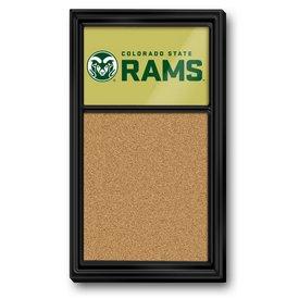 CSU - Colorado State Rams Team Board Corkboard-Secondary Logo