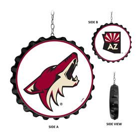 Arizona Coyotes: Bottle Cap Dangler