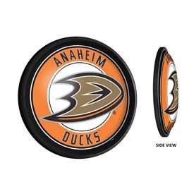 Anaheim Ducks: Round Slimline Illuminated Wall Sign