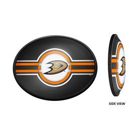 Anaheim Ducks: Oval Slimline Illuminated Wall Sign
