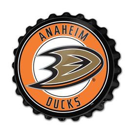 Anaheim Ducks: Bottle Cap Wall Sign