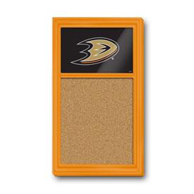 Anaheim Ducks: Cork Noteboard