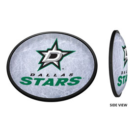 Dallas Stars: Ice Rink - Oval Slimline Illuminated Wall Sign