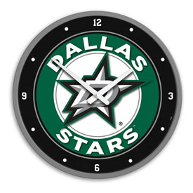 Dallas Stars: Modern Disc Wall Clock