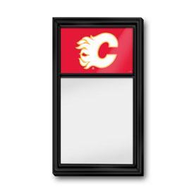 Calgary Flames: Dry Erase Noteboard