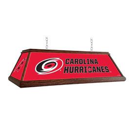Carolina Hurricanes: Premium Wood Pool Table Light