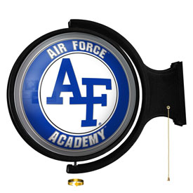 Air Force Academy Falcons: Original Round Rotating Lighted Wall Sign