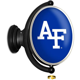 Air Force Academy Falcons: Original Oval Rotating Lighted Wall Sign