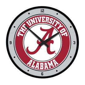 Alabama Crimson Tide: Modern Disc Wall Clock