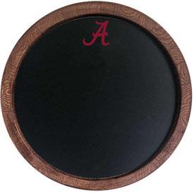 "Alabama Crimson Tide: Chalkboard ""Faux"" Barrel Top Sign"
