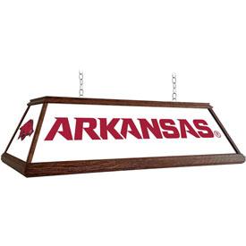 Arkansas Razorbacks: Premium Wood Pool Table Light