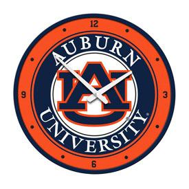 Auburn Tigers: Modern Disc Wall Clock