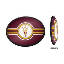 Arizona State Sun Devils: Oval Slimline Lighted Wall Sign