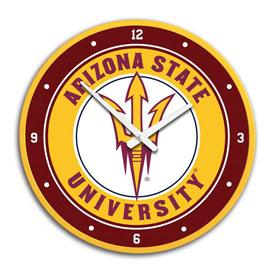 Arizona State Sun Devils: Modern Disc Wall Clock