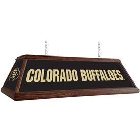 Colorado Buffaloes: Premium Wood Pool Table Light