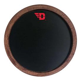 """Dayton Flyers: Chalkboard """"Faux"""" Barrel Top Sign"""