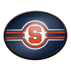 Syracuse Orange: Oval Slimline Lighted Wall Sign