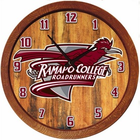 "20"" Barrel Team Logo Wall Clock"