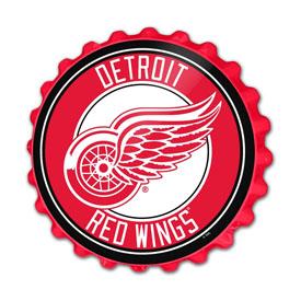 Detroit Red Wings: Bottle Cap Wall Sign