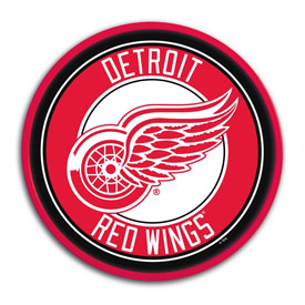 Detroit Red Wings: Modern Disc Wall Sign
