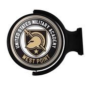 Army USMA Black Knights Rotating Illuminated Team Spirit Wall Sign-Round
