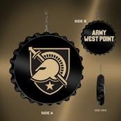 Army USMA Black Knights Team Spirit Bottle Cap Dangler-Primary Logo