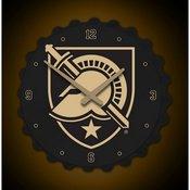 Army USMA Black Knights Team Spirit Bottle Cap Wall Clock