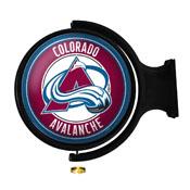Colorado Avalanche: Original Round Illuminated Rotating Wall Sign
