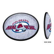 Colorado Avalanche: Ice Rink - Oval Slimline Illuminated Wall Sign