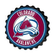 Colorado Avalanche: Bottle Cap Wall Sign