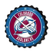 Colorado Avalanche: Bottle Cap Wall Clock