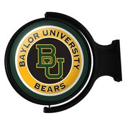 Baylor University Bears Rotating Illuminated Team Spirit Wall Sign-Round