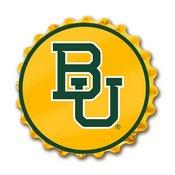Baylor University Bears Team Spirit Bottle Cap Wall Sign