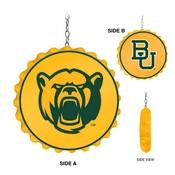 Baylor University Bears Team Spirit Bottle Cap Dangler-Primary Logo
